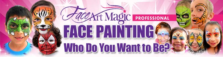 Face Art Magic Banner